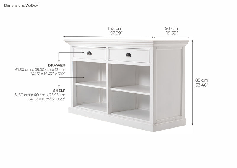 Buffet with 2 Drawers