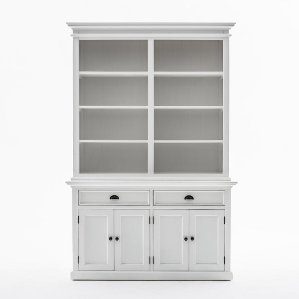 Buffet Hutch Unit with 8 Shelves