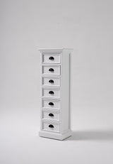 Halifax Storage Unit 7 Drawers - White