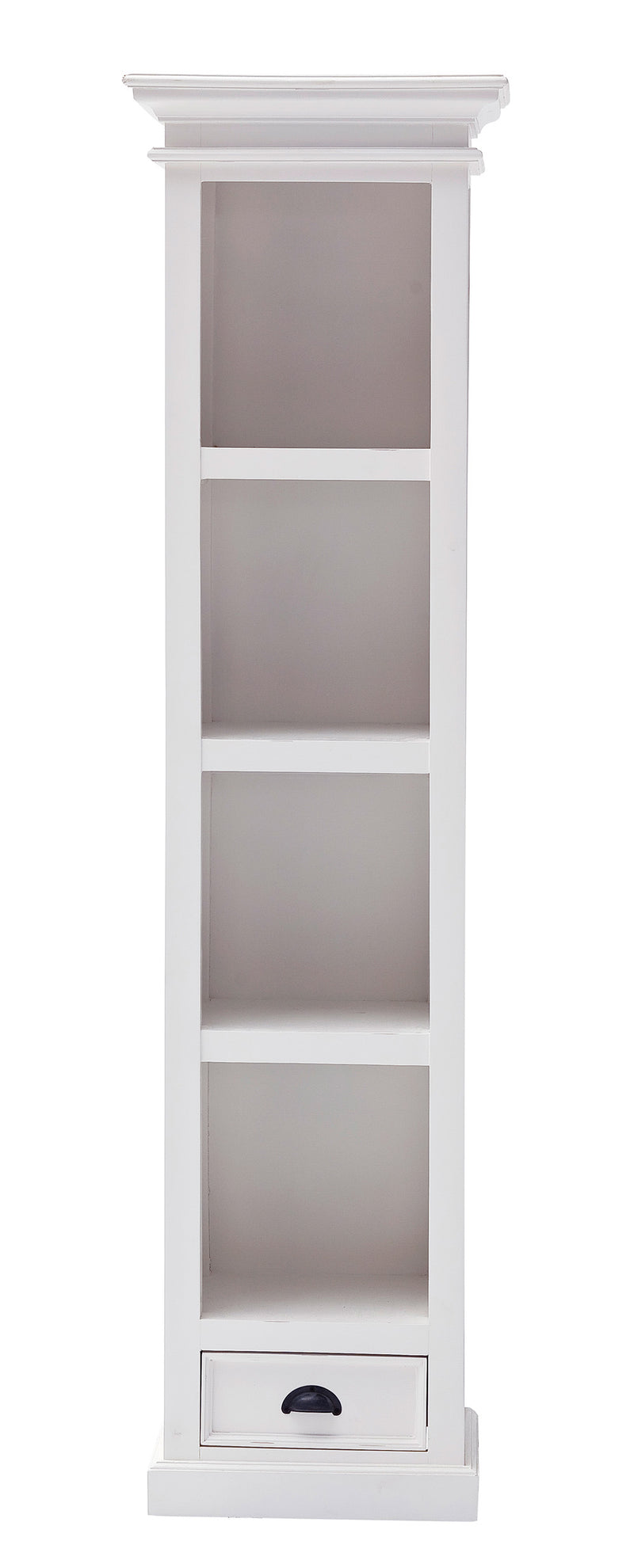 Halifax Thin Line Bookcase - White