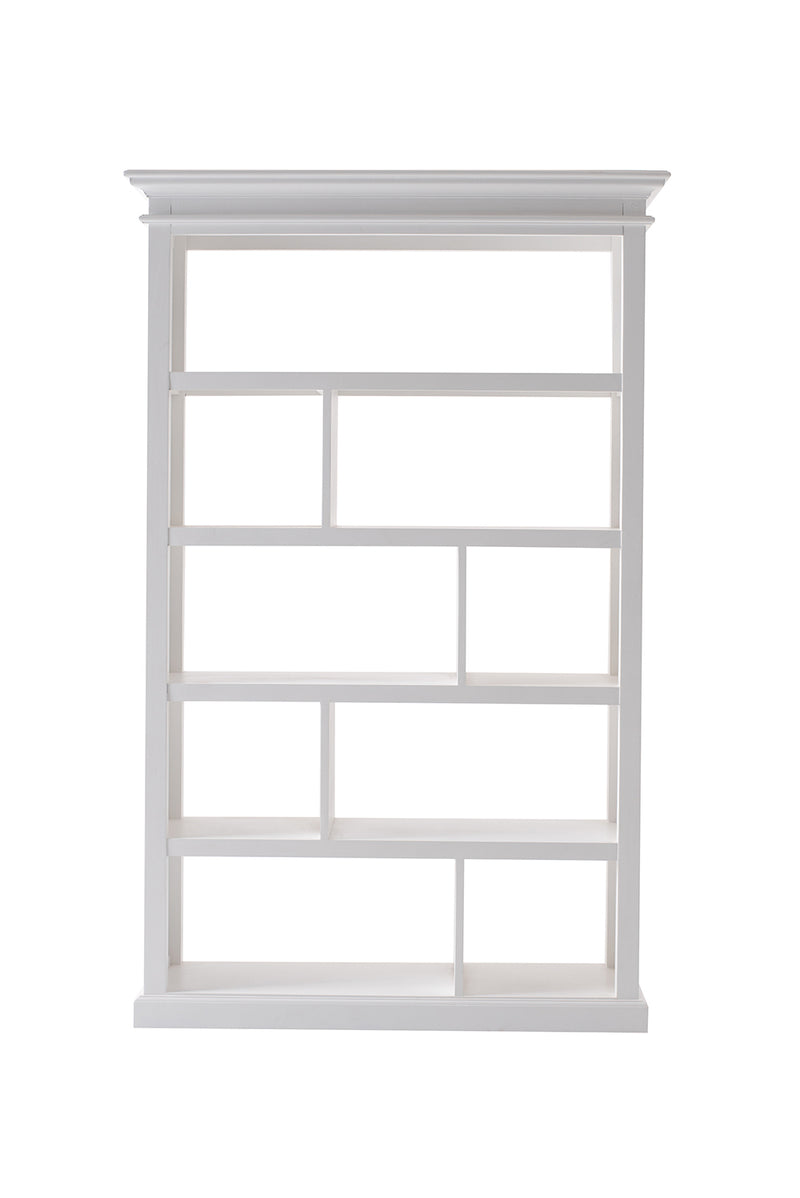 Halifax Open Bookcase / Room Divider - White