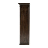 Halifax Mindi Double-Bay Hutch Unit - Black