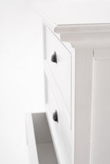 Halifax Tall Chest of Drawers - White