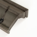 Halifax 8 Hook Coat Rack - Grey Brown