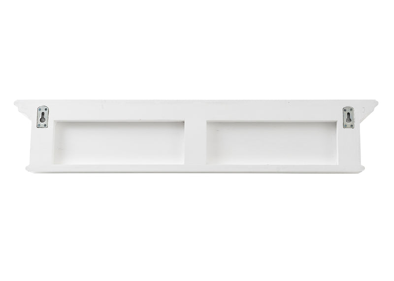 Halifax 6 Hook Coat Rack 100cm - White