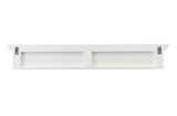 Halifax 8 Hook Coat Rack 130cm - White