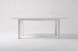 Halifax Extension Dining Table 160cm - White