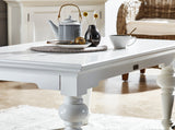 Provence Rectangle Coffee Table - White