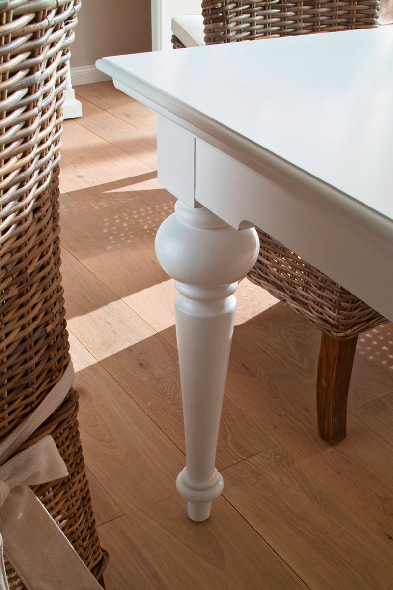Provence Dining Table 200cm - White