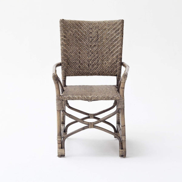 Countess Rattan Arm Chair (Set of 2)-Chair-Novasolo-I Wanna Go Home