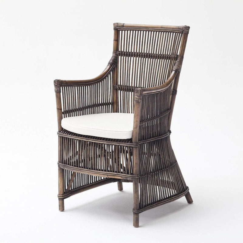 Duchess Kubu Rattan Arm Chair (Set of 2)-Chair-Novasolo-I Wanna Go Home
