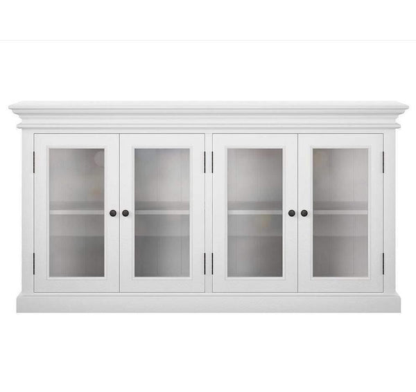 Halifax 4 Door Sideboard - White-Buffet-Novasolo-I Wanna Go Home