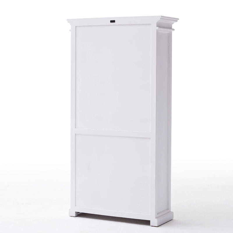 Halifax Bookcase - White-Bookcase-Novasolo-I Wanna Go Home