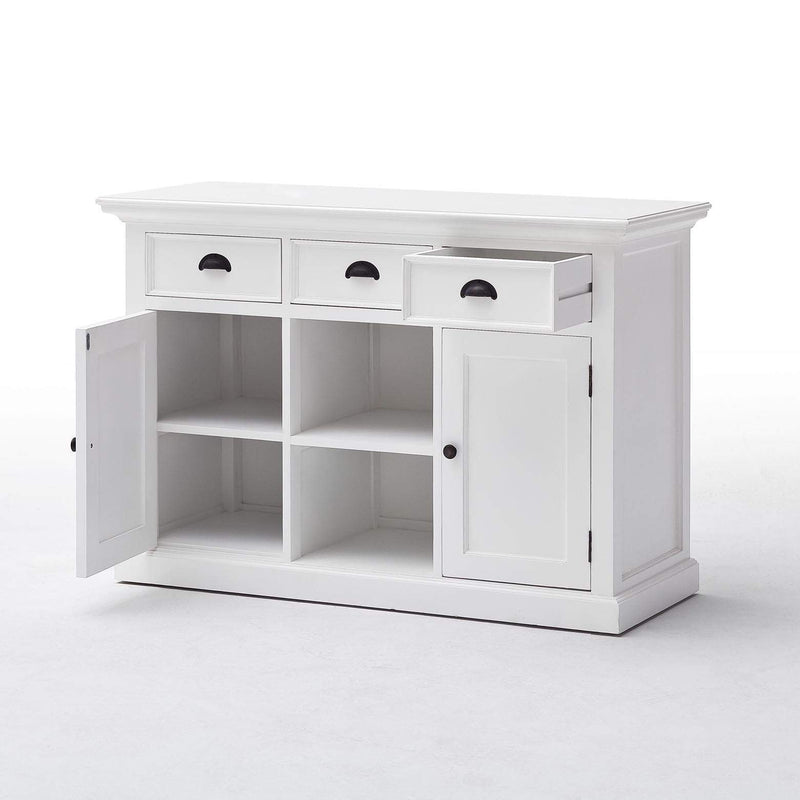Halifax Buffet / Sideboard - White-Buffet-Novasolo-I Wanna Go Home
