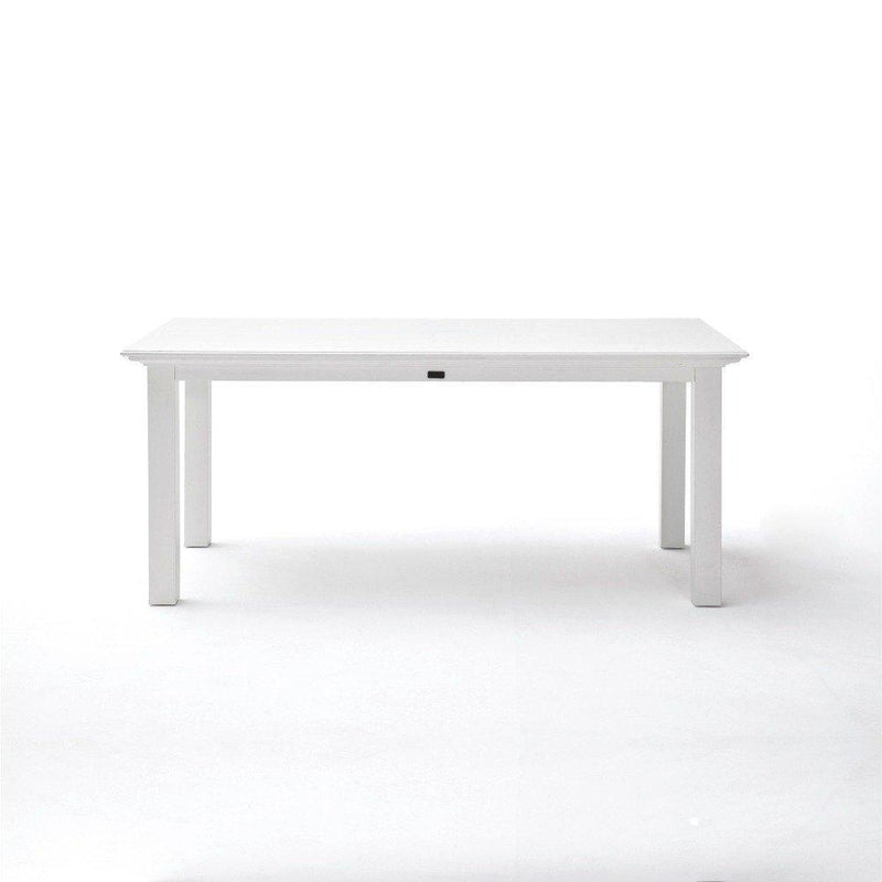 Halifax Dining Table 160cm - White-Dining Table-Novasolo-I Wanna Go Home