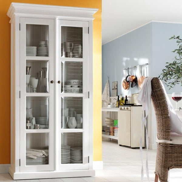 Halifax Double Vitrine - White-Cabinet-Novasolo-I Wanna Go Home