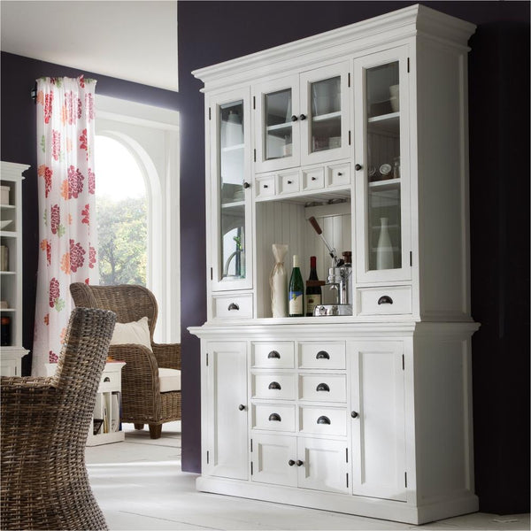 Halifax Kitchen Buffet & Hutch - White