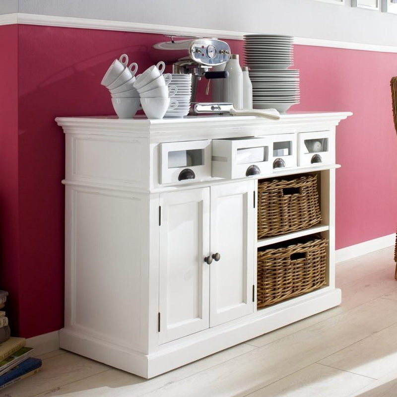 Halifax Kitchen Buffet - White-Buffet-by NovaSolo-I Wanna Go Home