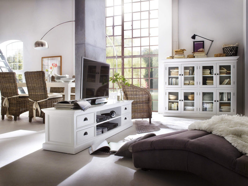 Halifax Lowline ETU 180CM - White-TV Stand-by NovaSolo-I Wanna Go Home