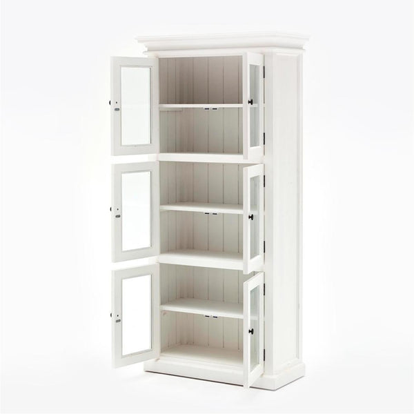 Halifax Medium Cabinet - White-Pantry-by NovaSolo-I Wanna Go Home