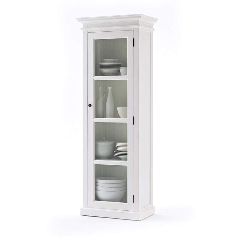 Halifax Single Vitrine - White-Cabinet-by NovaSolo-I Wanna Go Home