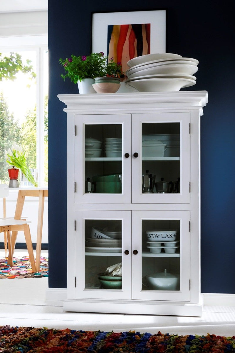 Halifax Small Cabinet - White-Pantry-by NovaSolo-I Wanna Go Home