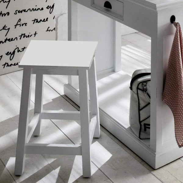 Halifax Stool - White-Stool-by NovaSolo-I Wanna Go Home