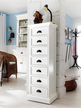 Halifax Storage Unit 7 Drawers - White-Chest-by NovaSolo-I Wanna Go Home