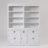 Hutch Bookcase 5 Doors, 3 Drawers-Hutch Cabinet-Novasolo-I Wanna Go Home