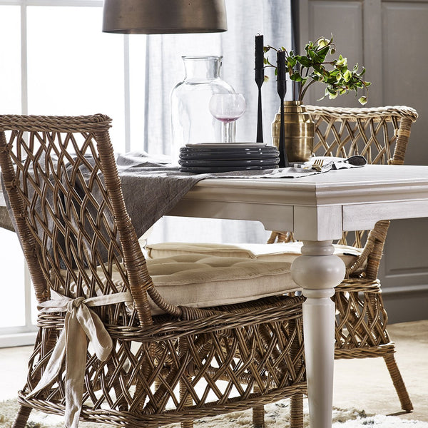 Marquis Kubu Rattan Dining Chair (Set of 2)-Chair-Novasolo-I Wanna Go Home