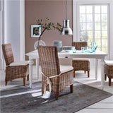 Morin Kubu Rattan Dining Chair (Set of 2)-Chair-Novasolo-I Wanna Go Home