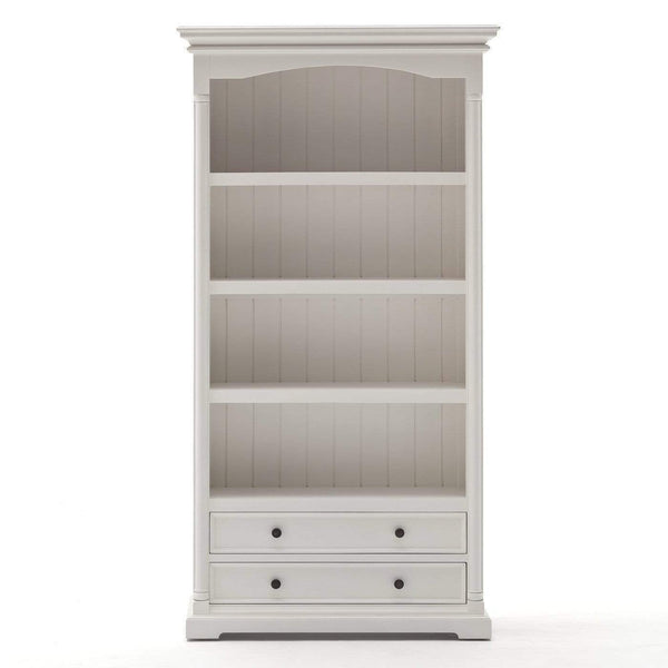 Provence Bookcase - White-Bookcase-Novasolo-I Wanna Go Home