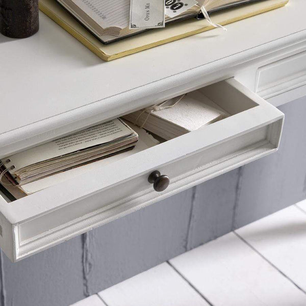 Provence Console Table - White-Console Table-Novasolo-I Wanna Go Home