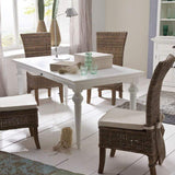 Provence Dining Table 180cm - White-Dining Table-Novasolo-I Wanna Go Home
