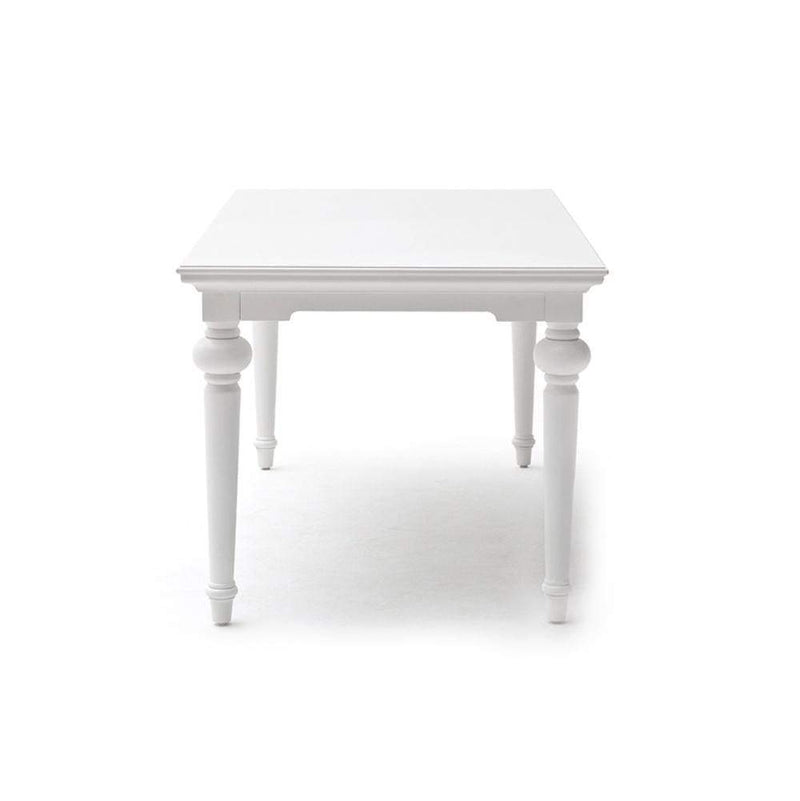 Provence Dining Table 200cm - White-Dining Table-Novasolo-I Wanna Go Home