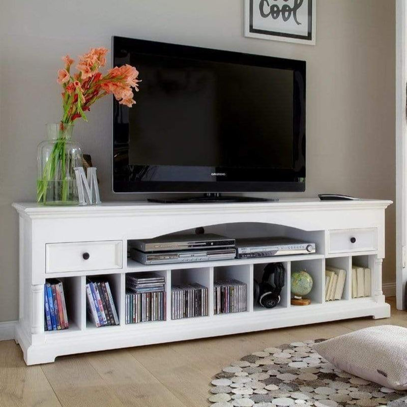Provence Large ETU 180cm - White-TV Stand-Novasolo-I Wanna Go Home