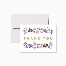 Load image into Gallery viewer, Floral Thank You Card