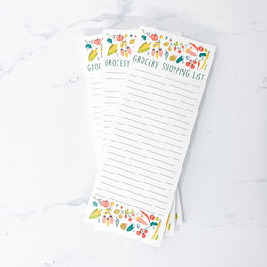 Grocery Shopping List - 50 Page Notepad