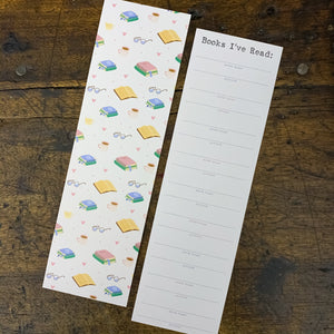 Reading Log Bookmark - Pack of 8
