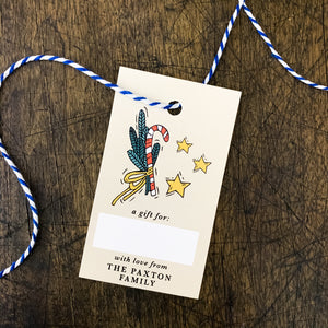 Personalized Christmas Gift Tags (Set of 50)