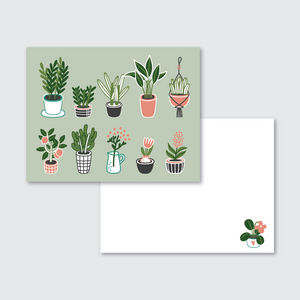 Plant Lady Stationery Set of 24