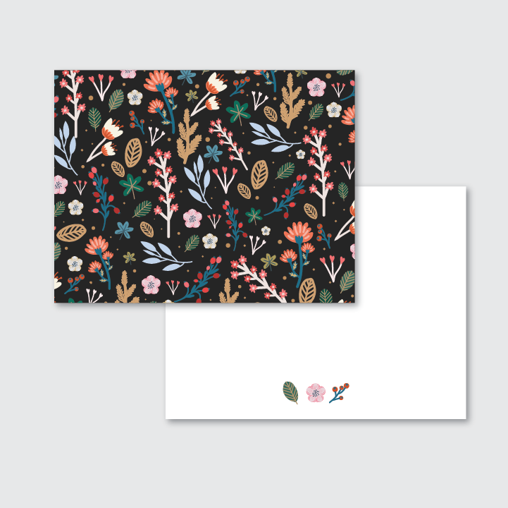Wildflower Stationery Set of 24