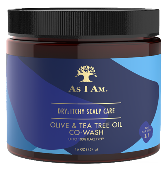 Dry and Itchy Scalp Care Olive and Tea Tree Oil Co-Wash