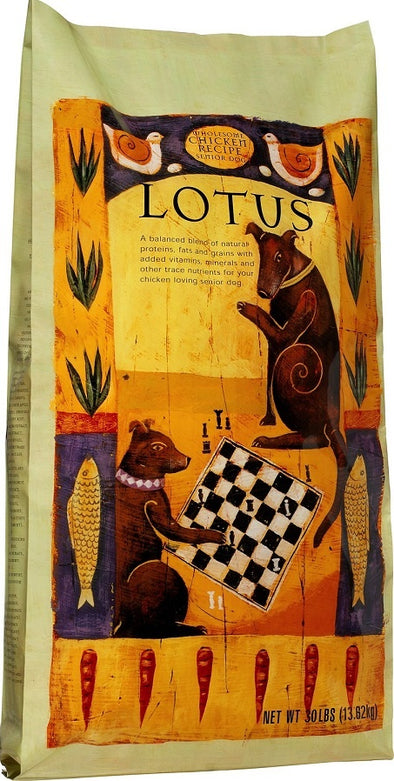 Lotus Oven Baked Senior Recipe Dry Dog Food