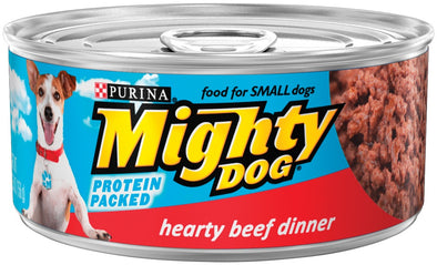 Purina Mighty Dog Hearty Beef Canned Dog Food