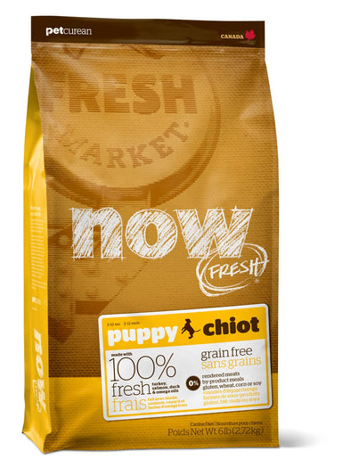 Petcurean Now! Fresh Grain Free Puppy Dry Dog Food