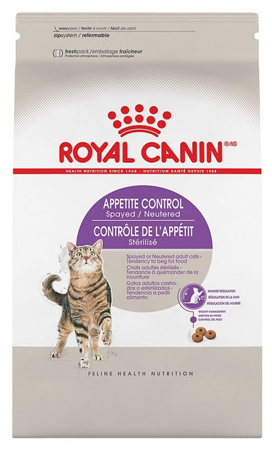 Royal Canin Feline Health Nutrition Spayed or Neutered Appetite Control Dry Cat Food