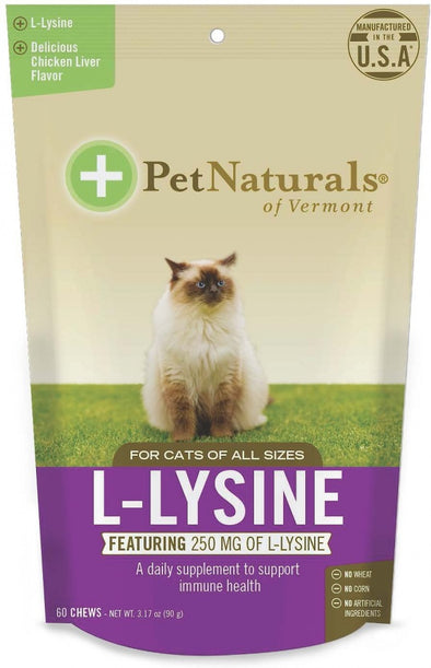 Pet Naturals of Vermont L-Lysine Cat Chews