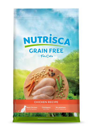 NUTRISCA Grain Free Chicken Recipe Dry Cat Food