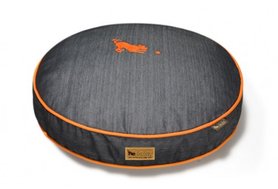 P.L.A.Y. Denim Round Dog Bed